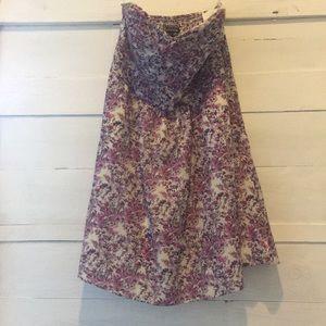 Pink floral print Express dress